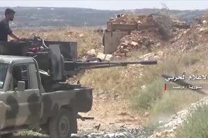 Quân đội Syria đánh chiếm cao điểm chiến lược, cắt đường sống của phe thánh chiến tại Daraa