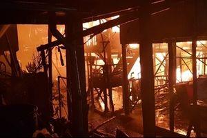 Hỏa hoạn thiêu rụi hơn 60 căn nhà của người gốc Việt ở Campuchia
