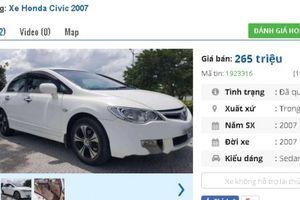 Chiếc ô tô Honda cũ này đang rao bán nhiều nhất ở tầm giá 200 triệu tại Việt Nam