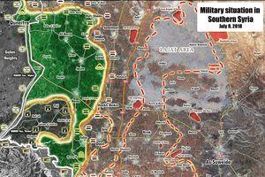 Quân tinh nhuệ Syria đè bẹp FSA, vây chặt hàng ngàn tay súng thánh chiến tại Daraa