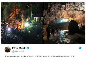 Tàu ngầm mini của Elon Musk đã sẵn sàng cho công cuộc giải cứu đội bóng
