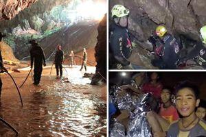 Cận cảnh hành trình giải cứu đội bóng Thái Lan từ hang Tham Luang