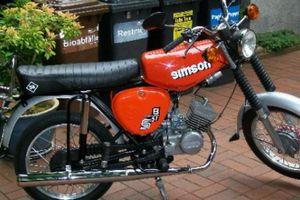 Simson hào hoa hơn Honda Super Cub nhưng... đoản mệnh