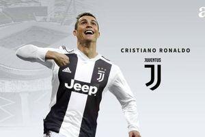 Chính thức: Cristiano Ronaldo gia nhập Juventus