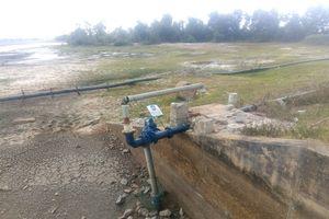 Quảng Bình: Hồ chứa nước cạn kiệt, người dân lo thiếu nước sinh hoạt