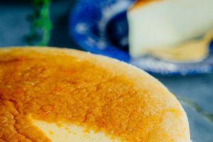 Bữa sáng không thể ngon hơn với bánh phô mai Nhật Bản thơm lừng