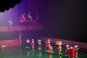 Múa rối nước chinh phục khán giả nước ngoài