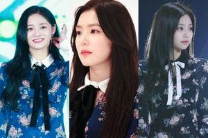 Chỉ có mỗi cái 'váy hoa quốc dân' mà Irene (Red Velvet), Jennie (Black Pink) và hàng chục cô khác thi nhau đụng hàng