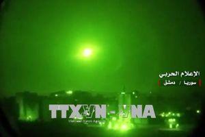 Tên lửa Israel bị lực lượng phòng không Syria đánh chặn