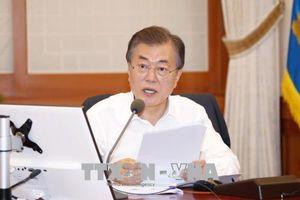 Tổng thống Hàn Quốc: Đàm phán Mỹ - Triều đang đi đúng hướng