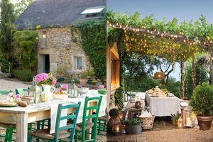 1001 các trang trí bàn ăn ngoài trời cho để thưởng thức một đêm hè mát mẻ