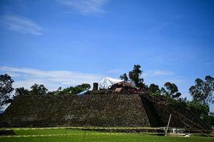 Mexico: Phát lộ dấu tích đền cổ thờ thần mưa