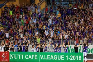 Hà Nội đấu Nam Định, sân Hàng Đẫy phải tăng cường an ninh gấp đôi