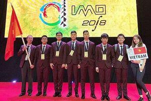 Việt Nam có 6 thí sinh đạt huy chương Olympic Toán Quốc tế năm 2018