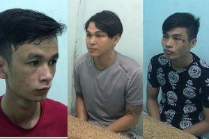 Bắt băng nhóm gây ra 7 vụ cướp trong chưa đầy 5 tiếng
