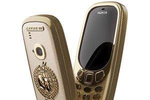 Nokia 3310 ra mắt phiên bản 'vàng', chào đón hội nghị Trump-Putin