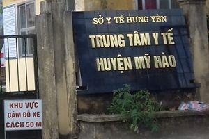 Khởi tố 4 cán bộ Trung tâm Y tế huyện Mỹ Hào