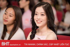 Nhan sắc 4 người đẹp quê Hà Tĩnh vào chung khảo miền Bắc Hoa hậu Việt Nam