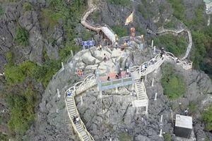 Ninh Bình: Cần làm rõ và xử lý sai phạm trên núi Cái Hạ
