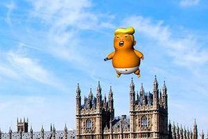 Anh: Thả khí cầu 'bé Trump' phản đối chuyến thăm của Tổng thống Mỹ