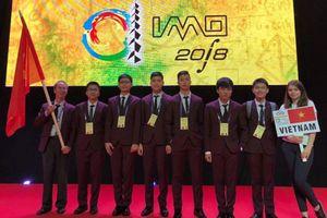 Học sinh Việt Nam giành 1 huy chương vàng olympic toán học quốc tế