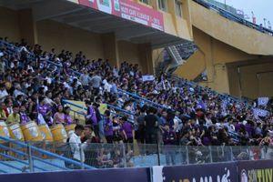 400 người bảo vệ an ninh khi Hà Nội FC tiếp Nam Định