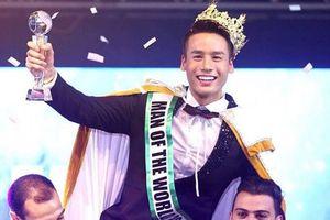 Cao Xuân Tài đăng quang Nam vương 'Man of The World 2018'