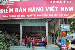 Sẽ có 100 Điểm bán hàng Việt Nam trong năm nay