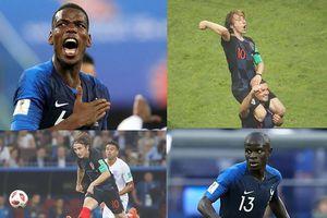 Chung kết World Cup 2018: Ai 'canh tác' khu trung tuyến tốt nhất?