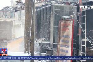 Cháy lớn tại Trạm biến áp 110 KV gây mất điện diện rộng ở Bắc Ninh