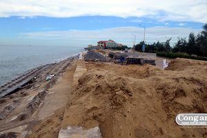 Kè biển Cửa Đại: Khẩn trương khắc phục trong 70 ngày