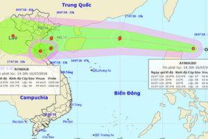Biển Đông liên tiếp hứng chịu 2 áp thấp nhiệt đới