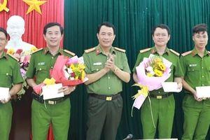 Công an tỉnh Thừa Thiên- Huế khen thưởng các đơn vị phá vụ án giết người
