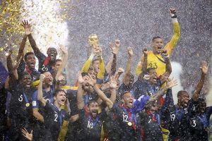 Vượt qua Croatia, Pháp chính thức trở thành nhà vô địch World Cup 2018