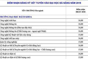 Đại học Đà Nẵng công bố điểm sàn nhận hồ sơ xét tuyển 2018