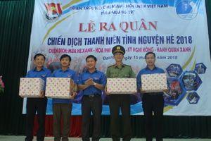 Hàng trăm đoàn viên tham gia hưởng ứng hoạt động tình nguyện tại huyện miền núi Quảng Trị