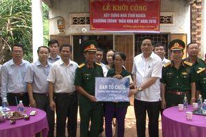 Khởi công xây dựng nhà tình nghĩa tại Bình Phước