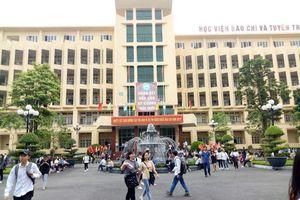 Học viện Báo chí và Tuyên truyền công bố ngưỡng điểm trúng tuyển theo diện xét tuyển học bạ