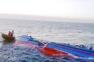 Chưa tìm thấy 3 ngư dân đắm tàu tại Cô Tô