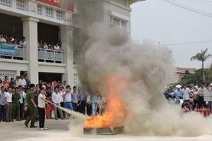 Đẩy mạnh tuyên truyền pháp luật, phòng chống cháy nổ