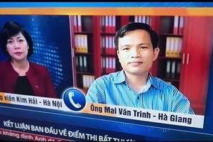 Hơn 340 bài thi được nâng điểm, mức cao nhất là 8,75 điểm ở Hà Giang