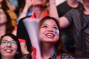 3.000 bạn trẻ cùng xem chung kết World Cup tại TP.HCM