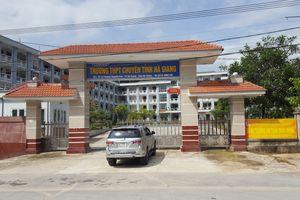 Cán bộ Sở GD&ĐT Hà Giang sửa, nâng điểm hơn 300 bài thi