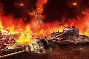 Choáng với màn đốt tăng Iraq mà Mỹ thực hiện trong 'xa lộ chết'