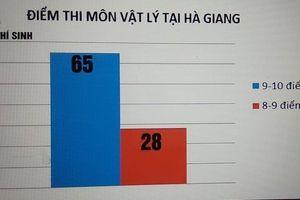 Phát hiện điểm cao bất thường ở Hà Giang là do tiêu cực