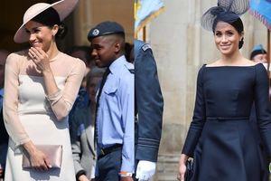 Làm dâu hoàng gia mới 2 tháng, Meghan Markle đã chi gần 5 tỷ mua váy áo