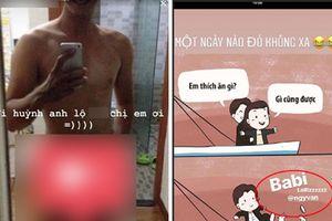 Giữa ồn ào ảnh nhạy cảm, Huỳnh Anh vui vẻ bày tỏ tình yêu - fans tiếp tục 'đào mộ' ảnh 18+ trong phim