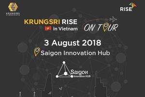 Krungsri RISE Batch 3: thêm cơ hội cho startup Việt Nam