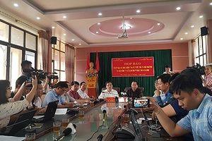 Quyết định khởi tố hình sự vụ 'hô biến' điểm thi THPT quốc gia tại Hà Giang
