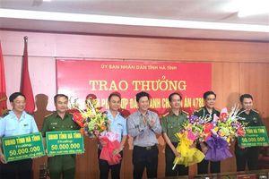 Hà Tĩnh: Khen thưởng đột xuất thành tích đấu tranh chuyên án 478LV